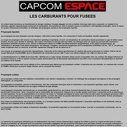 La mecanique spatiale: Du carburant pour les fusées