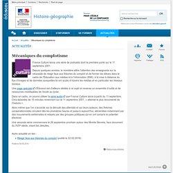 Mécaniques du complotisme-Histoire-géographie-Éduscol