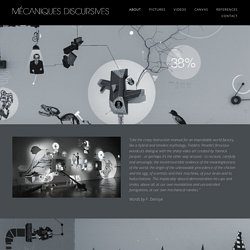 Mécaniques Discursives