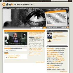 tv - Les mécaniques poétiques d'EZ3kiel à l'Espace Culture de Lille 1 / Laurent Grisoni