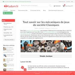 Tout savoir sur les mécaniques de jeux de société Classiques - Ludum.fr