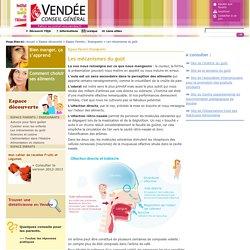Les mécanismes du goût - Institut de la Qualité de l'Aliment - Conseil Général de Vendée