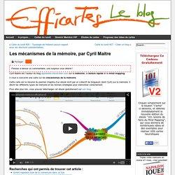 Les mécanismes de la mémoire, par Cyril Maitre - Le blog Efficartes