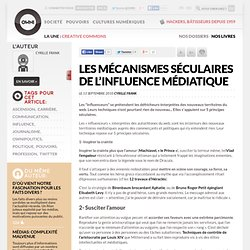 Les mécanismes séculaires de l'influence médiatique » Article » OWNI, Digital Journalism