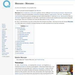 Meccano - Meccano - qwe.wiki