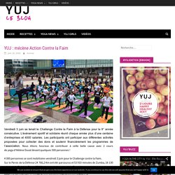 YUJ : mécène Action Contre la Faim - YUJ - YOGA WITH STYLE