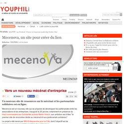 Mecenova, un site pour créer du lien