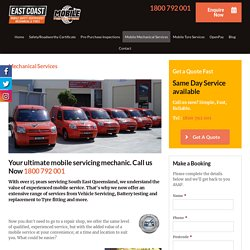 Best Mobile Mechanical Services in Brisbane