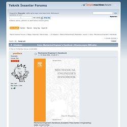 mechanical engineering handbook pdf