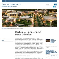 Mechanical Engineering in Scenic Dehradun « Glocal University