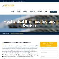Mechanical Engineering Design Services Los Angeles
