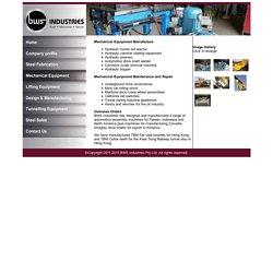 Machine Equipment Manufacturer-Melbourne