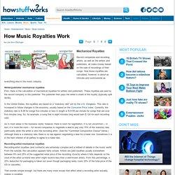 Mechanical Royalties - How Music Royalties Work