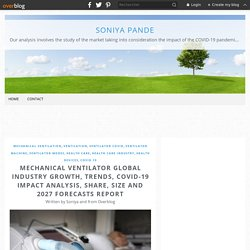 COVID-19 Impact on Mechanical Ventilators Market 2020 Research Report