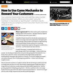 How to Use Game Mechanics to Reward Your Customers