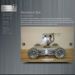 Mechatronic Tank | Beatty Robotics