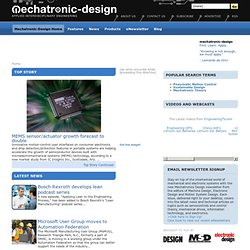 Mechatronic-Design | Applied Interdisciplinary Engineering