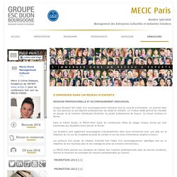 MECIC - Paris - Debouches