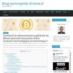 Comment la méconnaissance générale du Bitcoin pourrait nous priver d'une évolution technologique et économique ? – Blog technophile tfrichet.fr