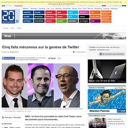 Cinq faits méconnus sur la genèse de Twitter