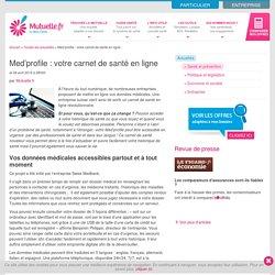 Med'profile : votre carnet de santé en ligne