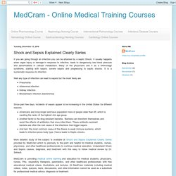 MedCram - Online Medical Training Courses: Shock and Sepsis Explained Clearly Series