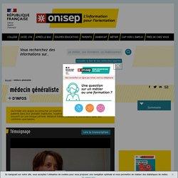 médecin généraliste - Onisep