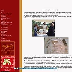 medecine et chirurgie romaine
