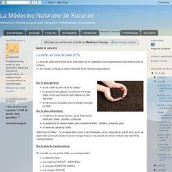 La Médecine Naturelle de Suzanne: Médecine Chinoise