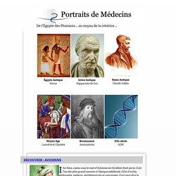 Médecins célèbres… depuis l'Egypte des pharaons… jusqu'au noyau de la création