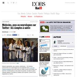 Médecins, psys ou neurologues sur Twitter: les comptes à suivre