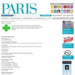 Médecins et pharmacies de garde - Paris.