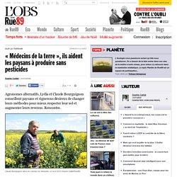 «Médecins de la terre», ils aident les paysans à produire sans pesticides