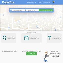Médecins et Rendez-vous En Ligne - DabaDoc