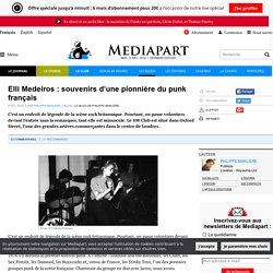 Elli Medeiros : souvenirs d'une pionnière du punk français