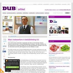 DUB: Meer medewerkers in bedrijfskleding UU