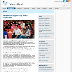 ScienceGuide: Sterke medezeggenschap, sterke hogeschool