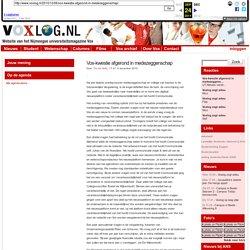 » Vox-kwestie afgerond in medezeggenschap Voxlog: Website van het Nijmeegse universiteitsmagazine Vox