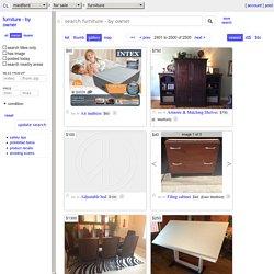 medford furniture - by owner - craigslist