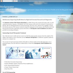 Medgenome: MedGenome Improving Health Status by High-End Genomic Research and Diagnostics