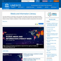 UNESCO - Media and Information Literacy
