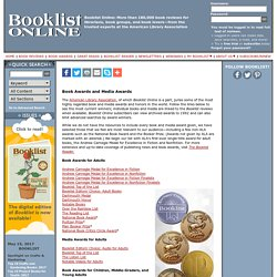 Booklist Online - Book and Media Awards