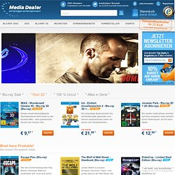Media-Dealer.de DVD, Blu-ray Multimedia Shop