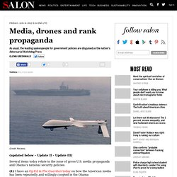 Media, drones and rank propaganda