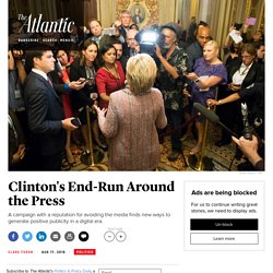 The Media, Hillary Clinton, and Donald Trump
