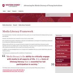 Media Literacy Framework