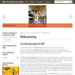 média-planning GRP