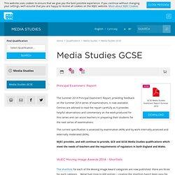 Media Studies GCSE