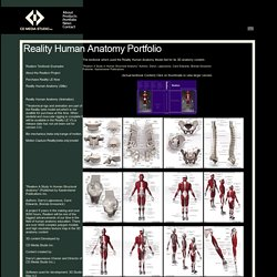 CD Media Studio Inc. Reality 3D Human Anatomy Model Set