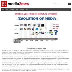 media2mrw – your ideas for the future of media
